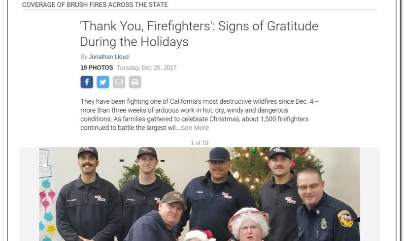 Thank you first responders!